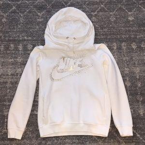White Nike Hoodie